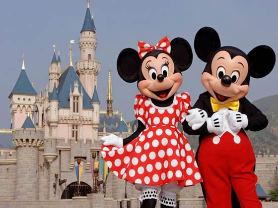 Minni e Topolino a Disney World